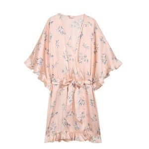 Other - Light Pink Robe- Short/ Satin